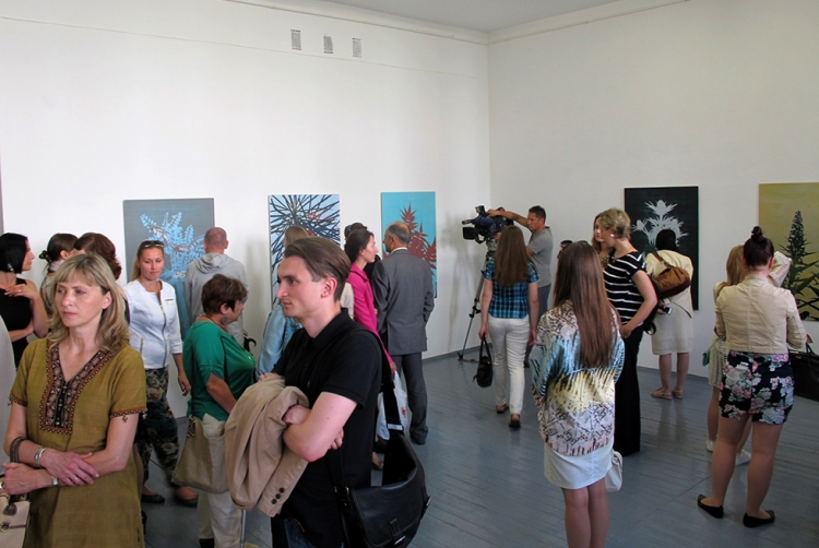 Opening of Night Frightens the Day V.C.C.A Minsk July 2015
